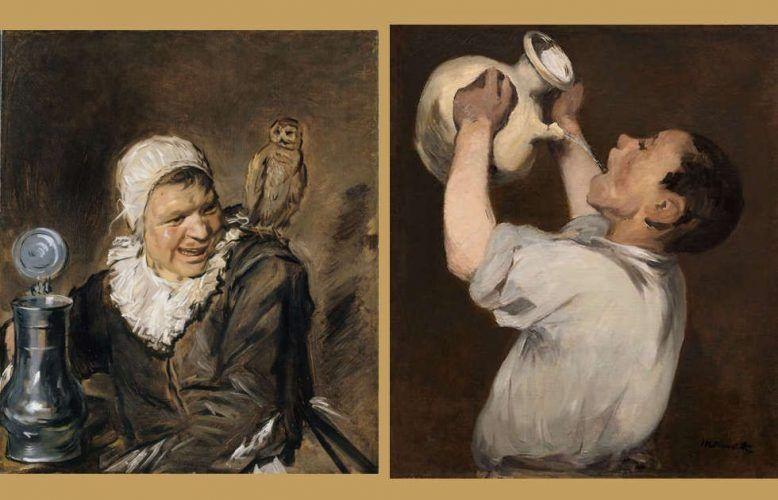 Hals und die Modernen, Hals - Manet