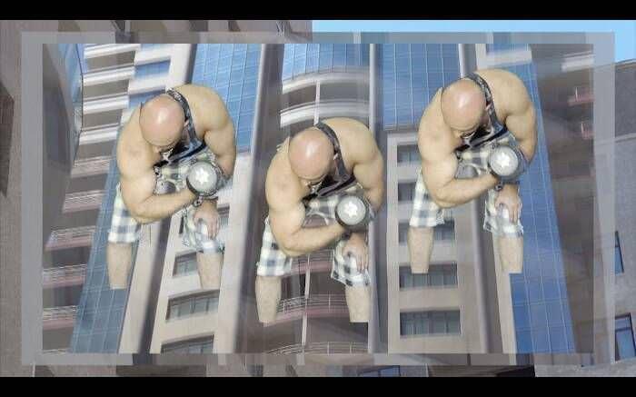Hannah Black, Bodybuilding, 2015, Digitales Video, Farbe, Ton, 8:10 Min., in Auftrag gegeben von Yarat Contemporary Art Centre, Baku.