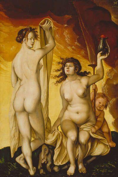 Hans Baldung Grien, Zwei Hexen, 1523 (© Städel Museum – ARTOTHEK)