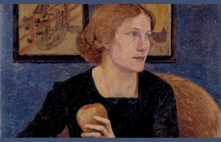 Heinrich Vogeler, Martha Vogeler, Detail, 1910
