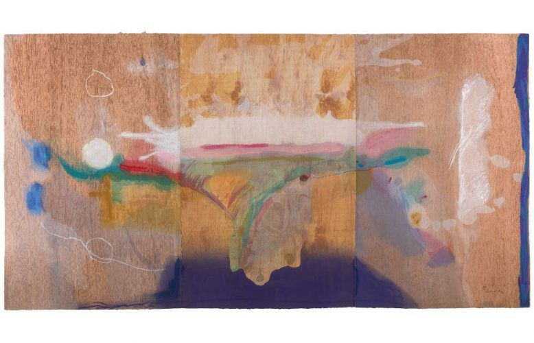 Helen Frankenthaler, Madame Butterfly, 2000, Holzschnitt in 102 Farben (© 2020 Helen Frankenthaler Foundation, Inc. / DACS / Tyler Graphic Ltd., Mount Kisco, NY)