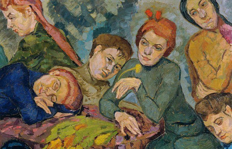 Helene Funke, Träume, Detail (© Belvedere, Wien)
