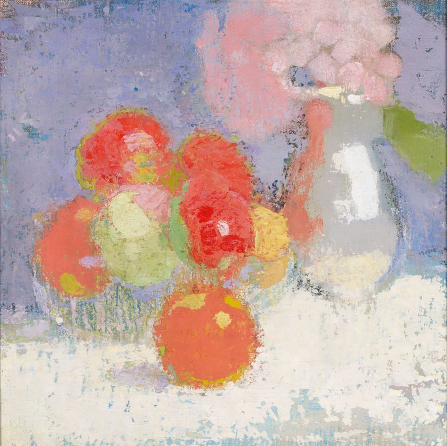 Helene Schjerfbeck, Rote Äpfel, 1915 (Finnish National Gallery/Ateneum Art Museum, The Kaunisto Collection. Photo: Finnish National Gallery/Henri Tuomi)