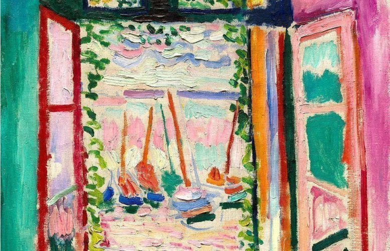 Henri Matisse, Offenes Fenster, Collioure, Detai, 1905, Öl auf Leinwand, 55,3 x 46 cm (Collection of Mr. And Mrs. John Hay Whitney National Gallery of Art, Washington 1998.74.7 © Succession H. Matisse/ VG Bild-Kunst, Bonn 2018)