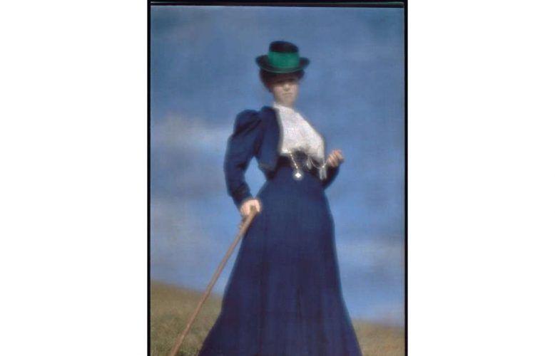 Heinrich Kühn, Miss Mary Warner, Gouvernante der Kinder, Detail, um 1910, Épreuve photomécanique sur papier Japon, 40,5 x 53 cm (Paris, Musée d'Orsay © Droits Réservés © Musée d'Orsay, Dist. RMN / Patrice Schmidt)