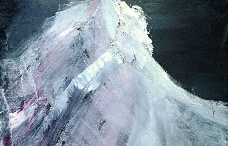 Herbert Brandl, Ohne Titel, Detail, 2000