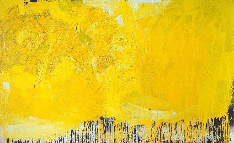 Hermann Nitsch, Regine, 2003, Öl auf Leinwand (Albertina, Wien. Sammlung Batliner)