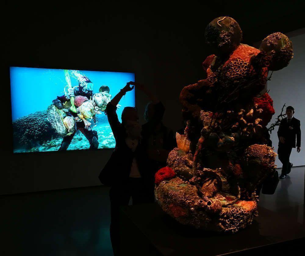 Damien Hirst, Mickey und Taucher, Foto: Alexandra Matzner, ARTinWORDS