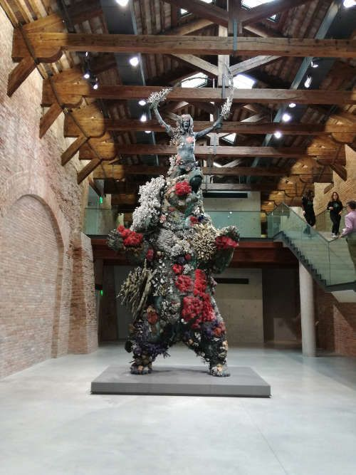 Hirst, Warrior and Bear, Foto: Anna-Maria Matzner, ARTinWORDS