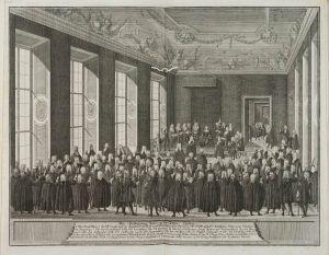 Publizierung der Pragmatischen Sanktion durch Karl VI., Wien, 19. April 1713 © Österreichisches Staatsarchiv, Abt. Haus-, Hof- und Staatsarchiv