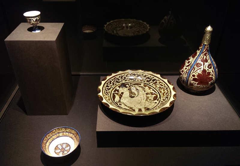 Islamische Lüsterware, Foto: Alexandra Matzner, ARTinWORDS