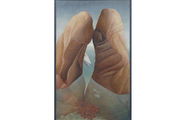 Ithell Colquhoun, Scylla, 1938 (Tate. © Spire Healthcare, © Noise Abatement Society, © Samaritans)