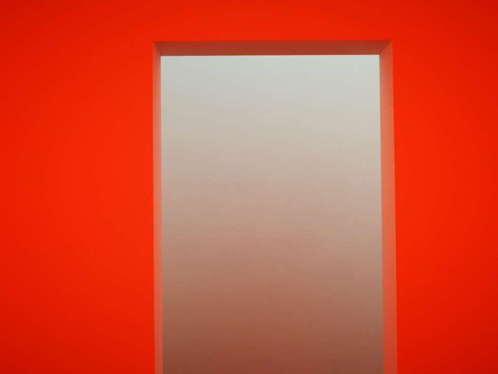James Turrell, Dasube (Dual Shallow Space Construction), Ausgang, 2011, Installation (Privatsammlung, Foto: Alexandra Matzner, ARTinWORDS)