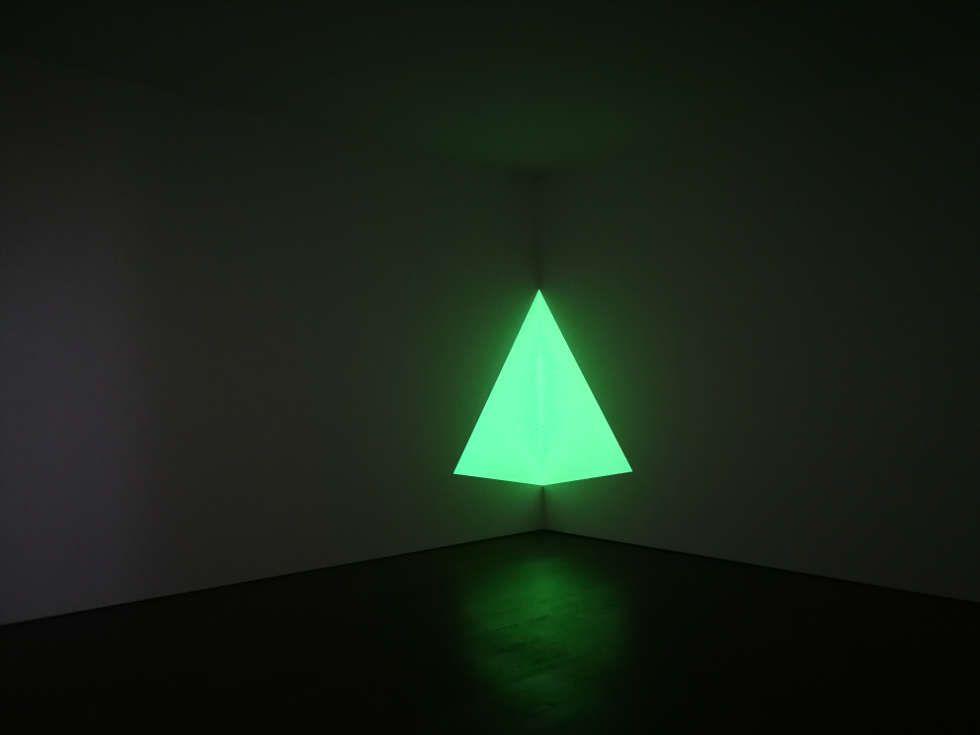 James Turrell, Raethro Green, 1968 (Collection Turrell Studio, Foto: Alexandra Matzner, ARTinWORDS)