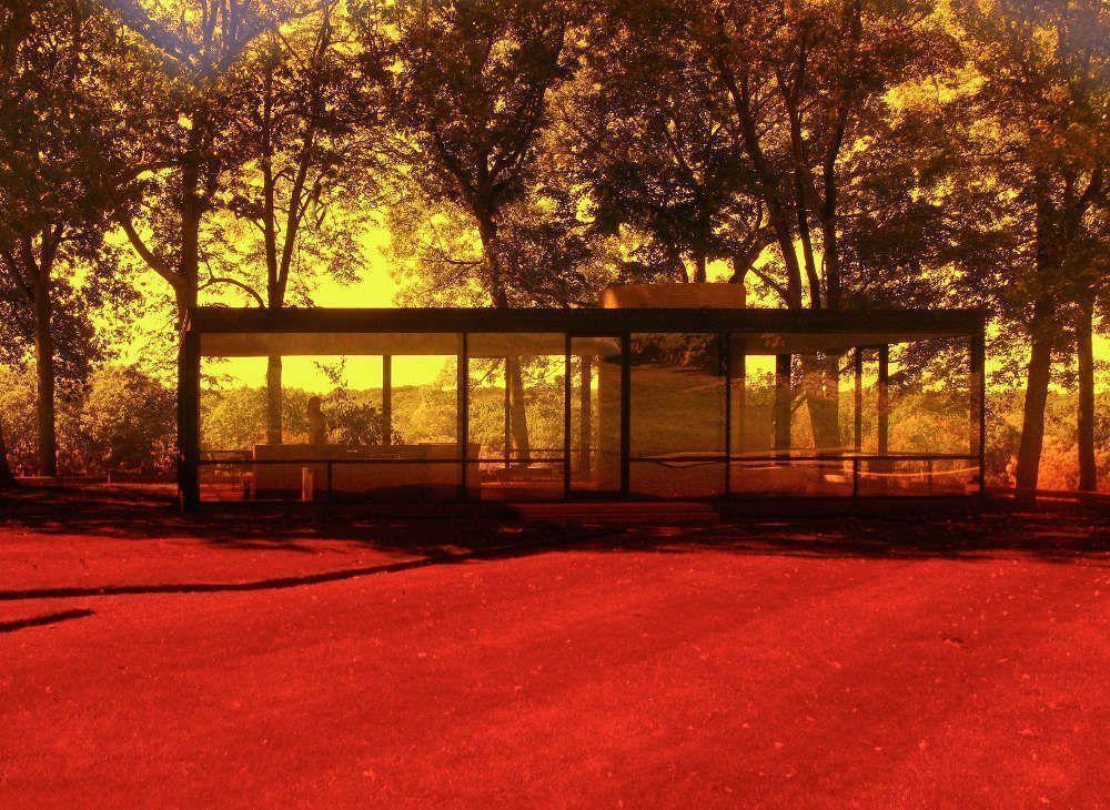 James Welling, 0154 (aus der Serie Glass House, 2006–2014), 2015 © James Welling, courtesy Regen Projects, Los Angeles
