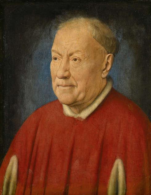 Jan van Eyck, Bildnis eines Gelehrten, ehemals als Kardinal Albergati bezeichnet, um 1435 (© KHM-Museumsverband)
