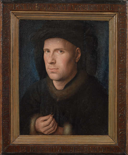 Jan van Eyck, Der Goldschmied Jan de Leeuw, 1436 datiert (© KHM-Museumsverband)