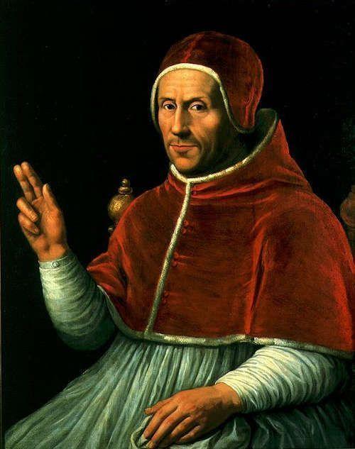 Jan van Scorel, Papst Hadrian VI., um 1523, Öl auf Holz (Centraal Museum, Utrecht)
