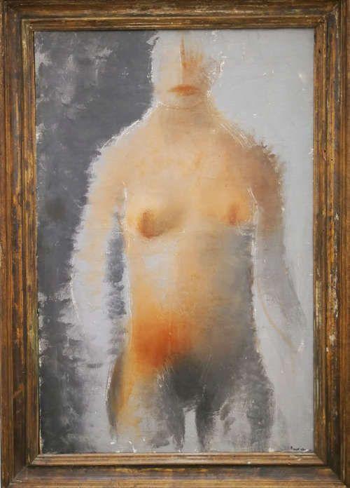 Jean Fautrier, Nu figuratif, 1927, Öl/Lw (Privatsammlung)