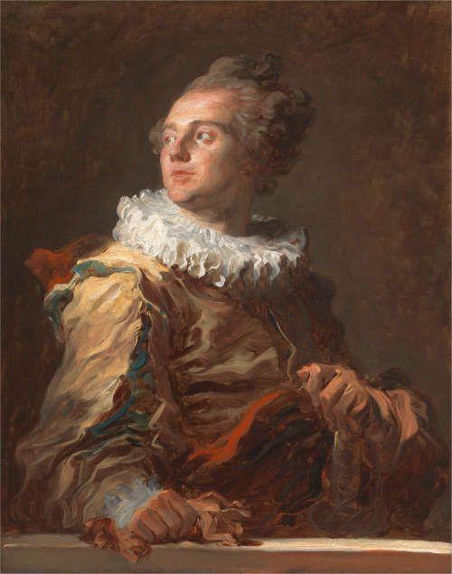Jean Honoré Fragonard, Der Schauspieler, um 1769, Öl auf Leinwand, 81 x 65 cm (Privatsammlung)