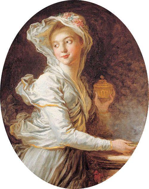 Jean Honoré Fragonard, Die Vestalin, um 1769–1771, Öl auf Leinwand, 80 x 63 cm (Privatsammlung, courtesy Etienne Breton, Saint Honoré Art Consulting, Paris)