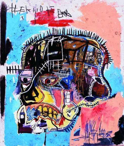 Jean-Michel Basquiat, Untitled, 1981, Acryl und Ölkreide/Lw, 205.7 x 175.9 cm (The Eli and Edythe L. Broad Collection © Estate of Jean-Michel Basquiat. Licensed by Artestar, New York. Foto Courtesy of Douglas M. Parker Studio, Los Angeles)