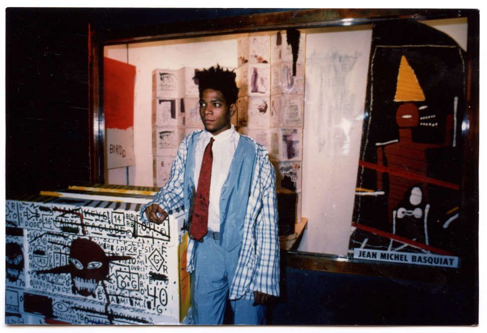 Jean-Michel Basquiat at Area, New York, 1984, Courtesy Jennifer Goode