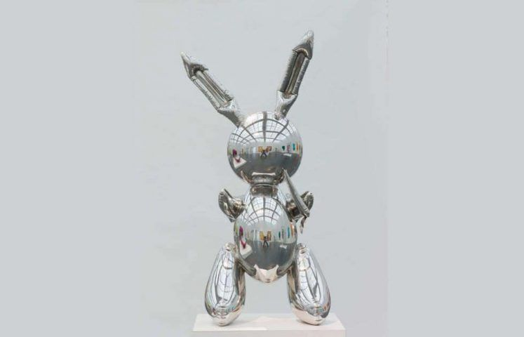 Jeff Koons, Rabbit, 1986 (Collection Museum of Contemporary Art Chicago, Photo: Nathan Keay, © MCA Chicago, © Jeff Koons)