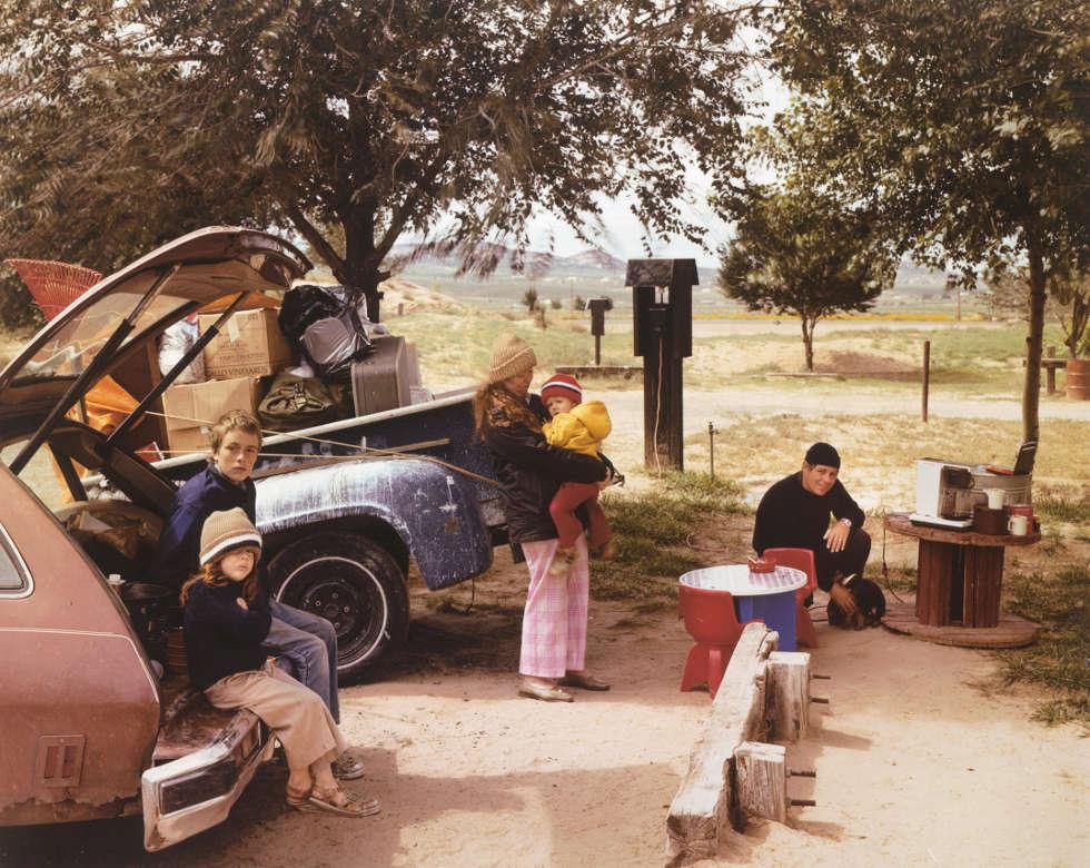 Joel Sternfeld, Red Rock State Campground, Gallup, New Mexico, September 1982, 1982, Digitaler C-Print (ALBERTINA, Wien – Dauerleihgabe Österreichische Ludwig-Stiftung für Kunst und Wissenschaft © Courtesy of the artist and Buchmann Galerie, Berlin 2019)