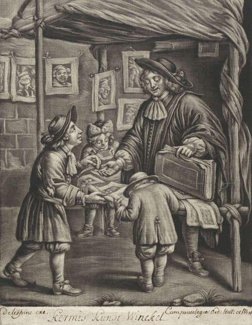 Johannes van Somer, Kunstladen auf der Kirmes, 1675–1696 (Rijksmuseum, Amsterdam © Rijksmuseum, Amsterdam)