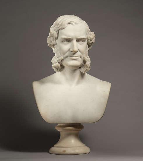 John Quincy Adams Ward, William Tilden Blodgett, 1865, Bronze, 66 x 39.4 x 26.7 cm (The Metropolitan Museum of Art, New York, Gift of Mrs. John Quincy Adams Ward, 1910, Inv.-Nr. 10.200)
