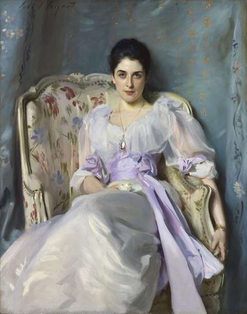 John Singer Sargent, Lady Agnew of Lochnaw, 1893, Öl auf Leinwand, 124 × 99,7 cm (National Gallery of Scotland, Edinburgh)
