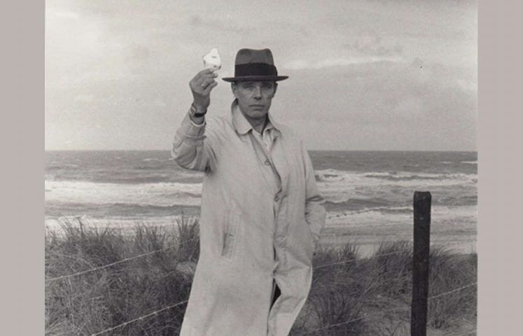Joseph Beuys, Scheveningen, Detail, 1976, Foto: Caroline Tisdall