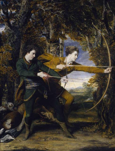 Joshua Reynolds, The Archers, 1769, Öl/Lw, 236 x 180 cm (Tate Britain, London)