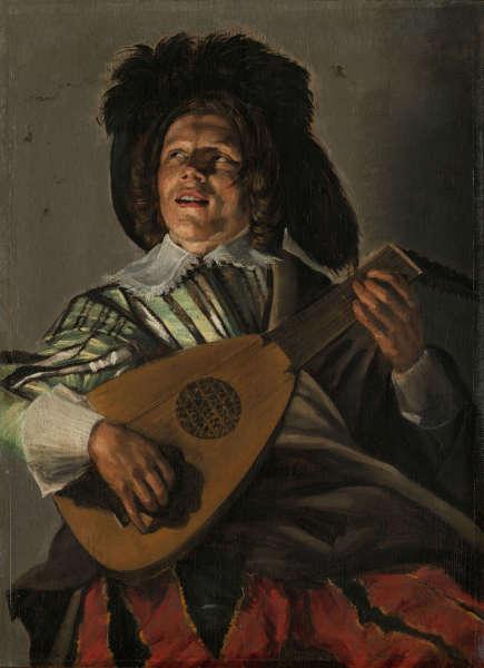 Judith Leyster, Die Serenade, 1629, Öl-Lw, 45,5 × 35cm(Rijksmuseum, Amsterdam)