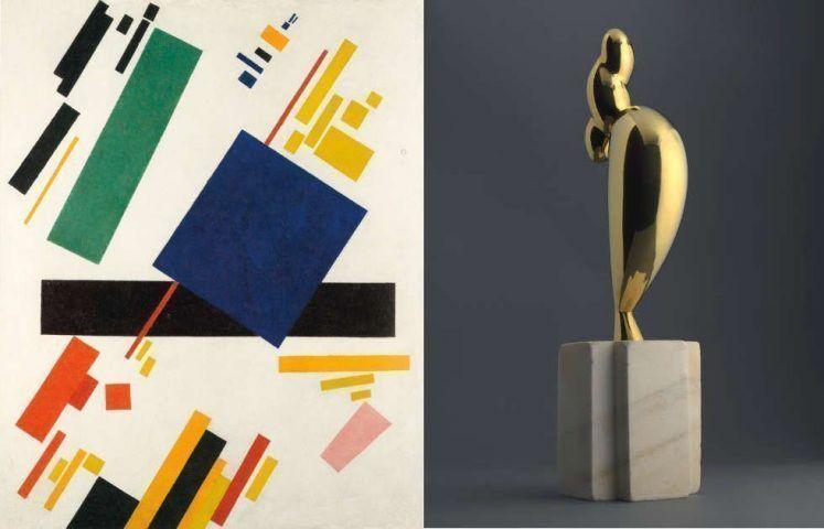 Kasimir Malewitsch, Constantin Brancusi, Christie's Sale 15.Mai 2018