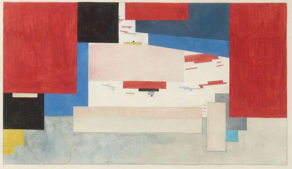 Kasimir Malewitsch, Suprematismus, 1919 (Tretjakow Galerie, Moskau)