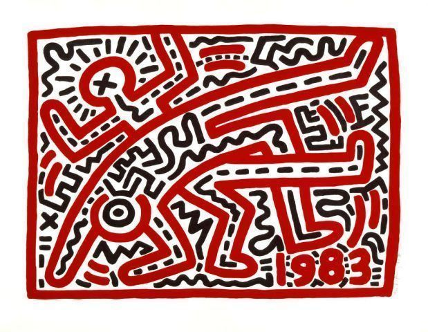 Keith Haring, Untitled, 1983 (© Keith Haring Foundation)