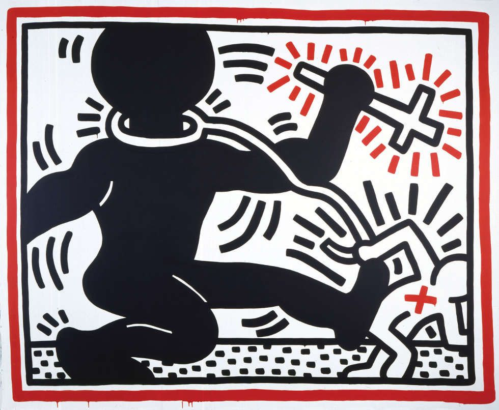 Keith Haring, Untitled, 1984 (© Keith Haring Foundation)