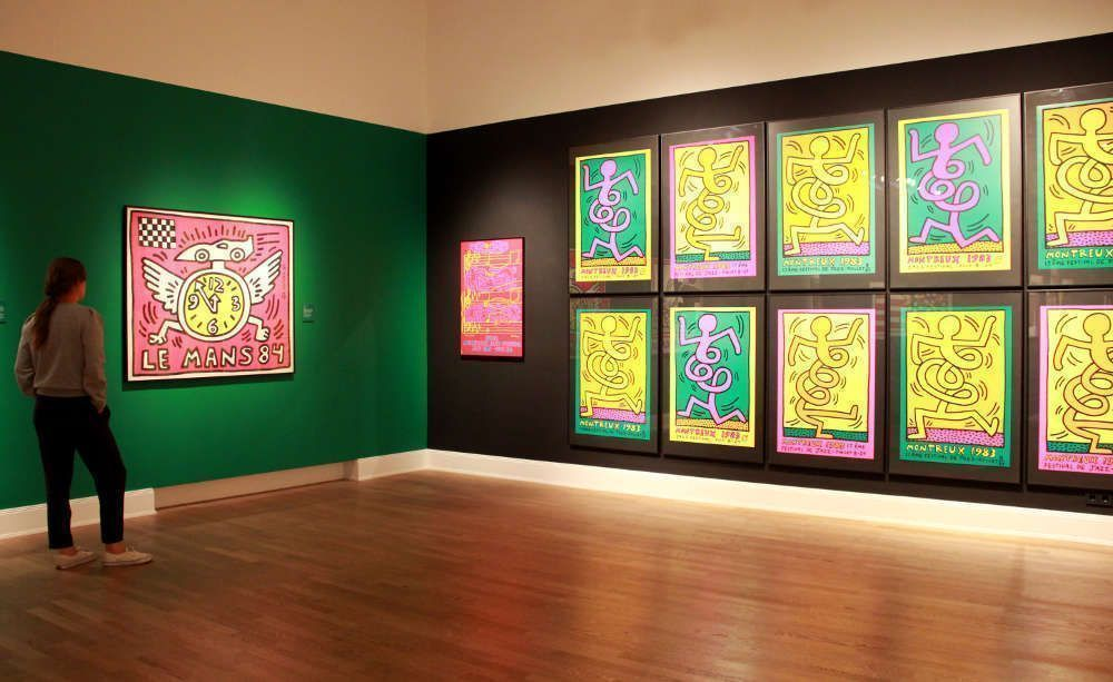 """Ausstellungsansicht """"Keith Haring. Poster"""" © Foto: Michaela Hille"""
