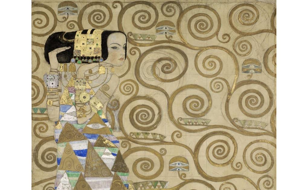 Gustav Klimt, Erwartung, Detail, 1910/1911 (© MAK/Georg Mayer)
