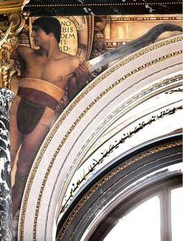 Klimt, Florentinisches Cinquecento (David), Kunsthistorisches Museum, Stiegenhaus