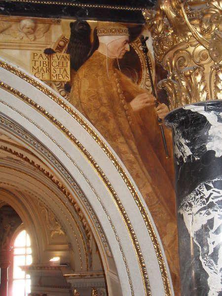 Klimt, Venezianisches Quattrocento (Doge), Kunsthistorisches Museum, Stiegenhaus