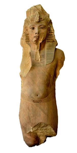 Kolossalstatue des Tutankhaman, Quarzit