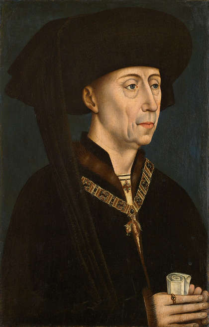 Kopie nach Rogier van der Weyden, Herzog Philipp der Gute von Burgund, um 1500 (© KHM-Museumsverband)