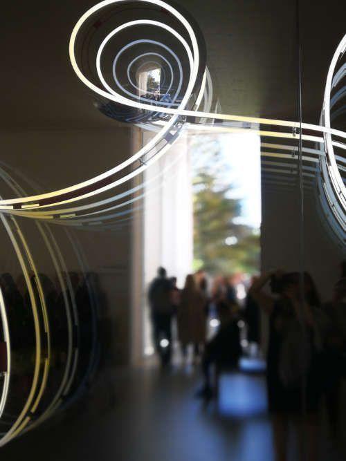 Brigitte Kowanz, www, Detail, Foto: Monika Matzner, ARTinWORDS