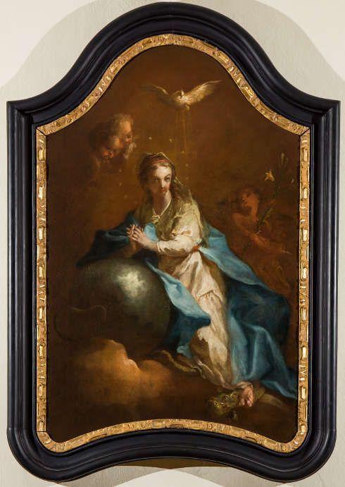 Martin Johann Schmidt [Kremser Schmidt], Immaculata, 1762, Öl/Lw, 130 x 90 cm (Pfarre Waidhofen/Ybbs)