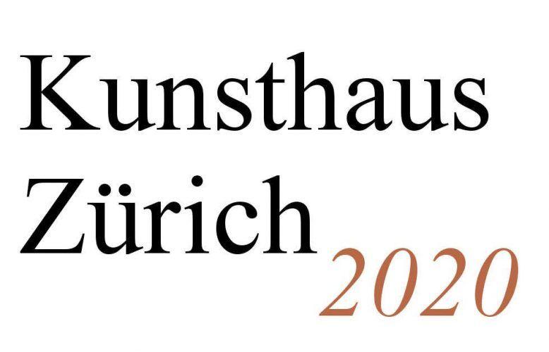 Kunthaus Zürich Ausstellungen 2020