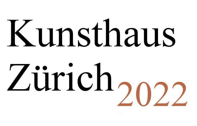 Kunthaus Zürich Ausstellungen 2022