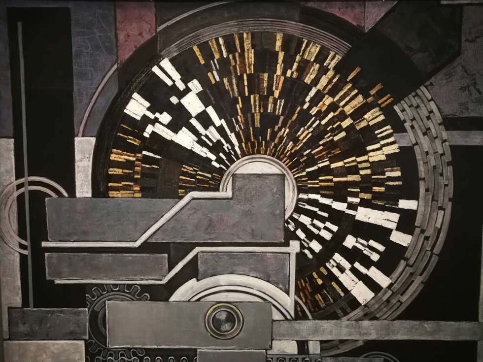 Kupka, Musique, 1930-1932, Öl/Lw (Centre Pompidou, Paris), Foto: Alexandra Matzner, ARTinWORDS